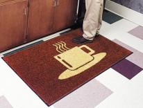 coffee floor mat