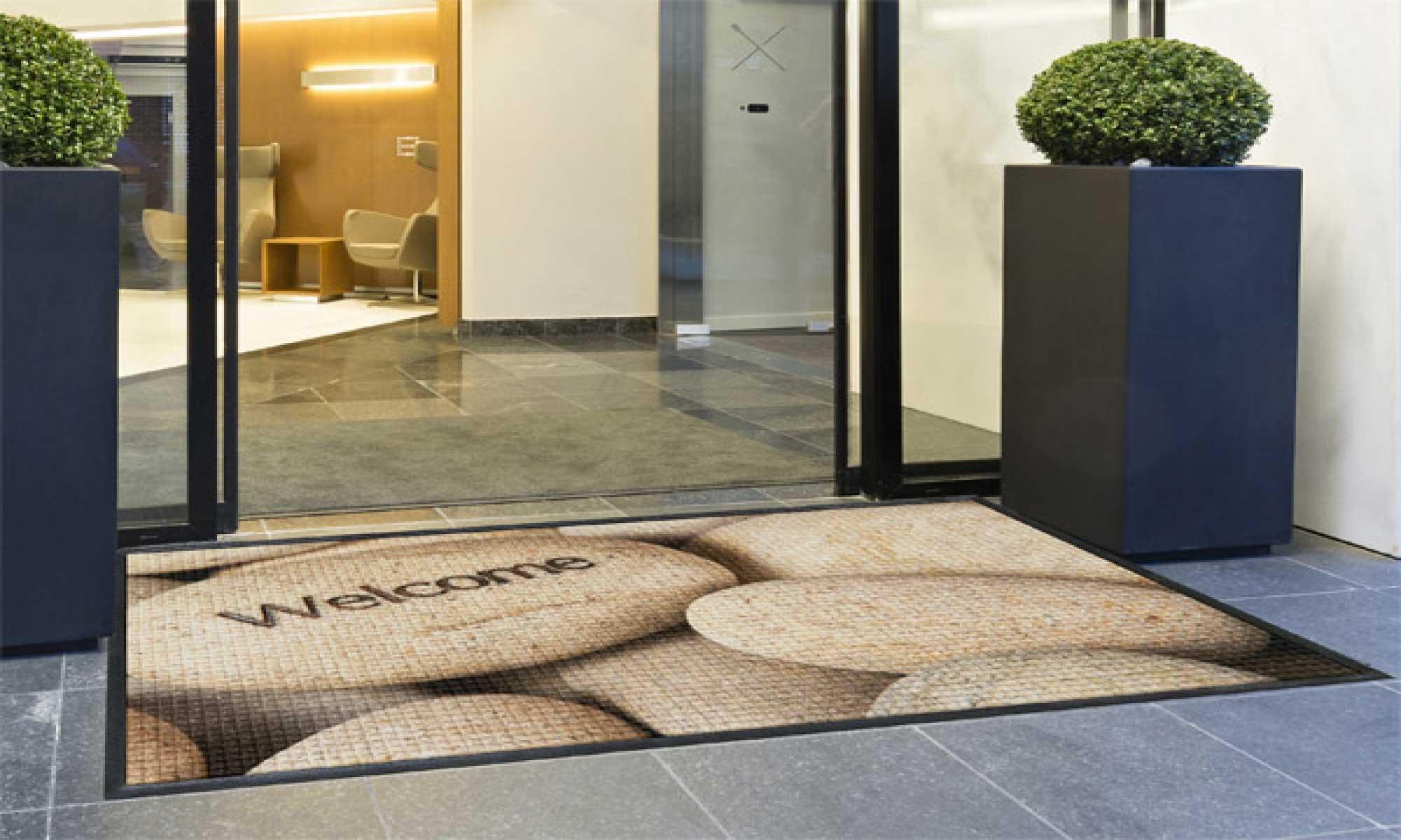 mats logo door monogrammed on info donatz unique custom charming to mat floor customized for back