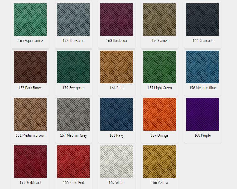 Waterhog Tile Colours Executive Mat
